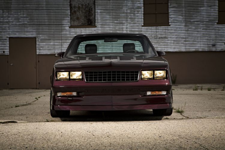 1986 chevy cars El Camino pickup modified wallpaper