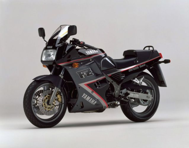 Yamaha FZ750 motorcycles 1991 wallpaper