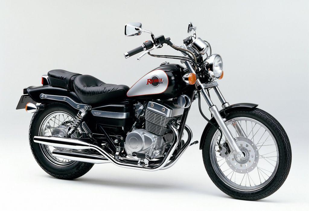 Honda CMX-250 Rebel motorcycles 1996 wallpaper