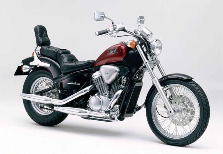 Honda Steed 400 VLX motorcycles 1992 wallpaper