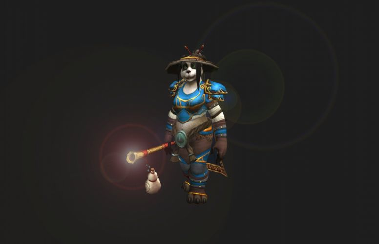 Panda Monk wallpaper