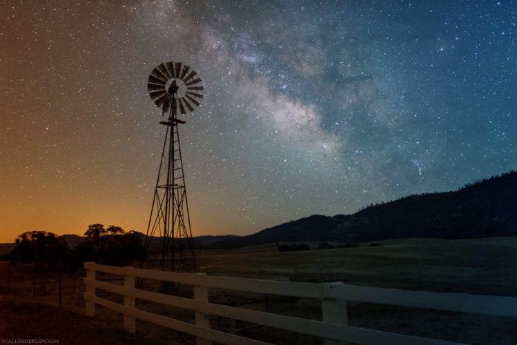 A Beautiful Night Sky @Ad wallpaper