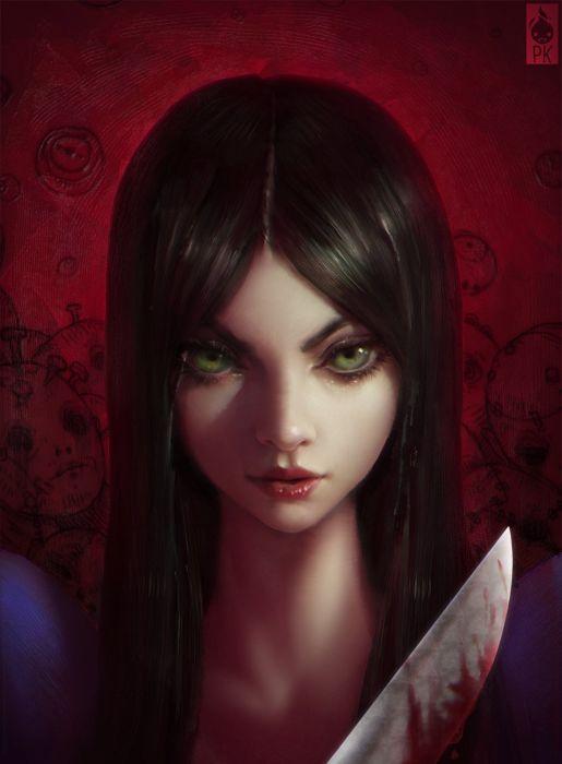 Alice PK Zeronis beautiful artstation original fantasy girl  wallpaper