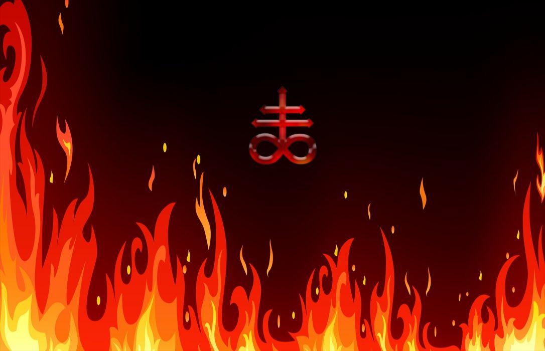 Hell Fire wallpaper