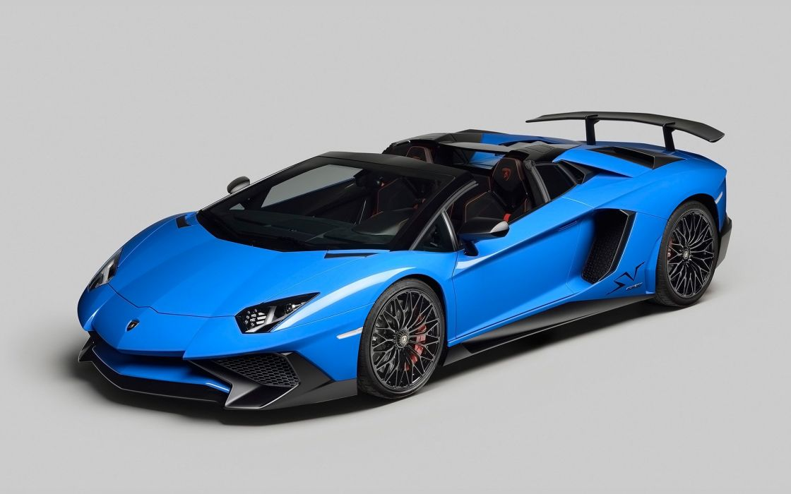Lamborghini Aventador LP-750-4 SV Roadster 2016 wallpaper