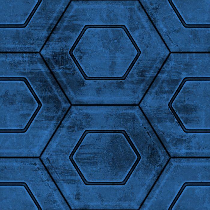 Blue Hex wallpaper