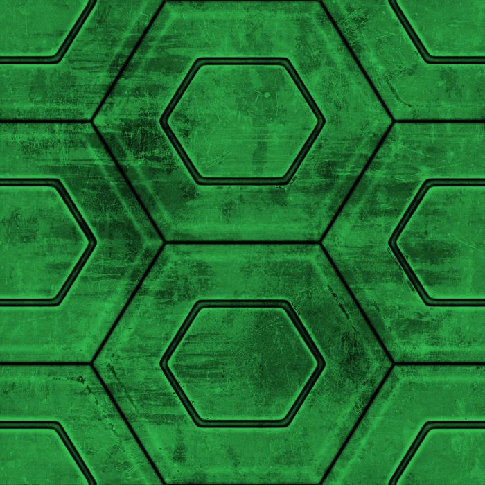 Green Hex wallpaper