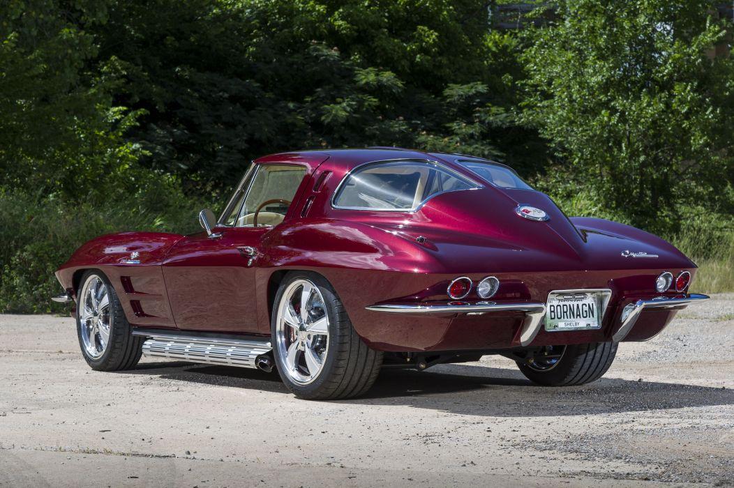 1963 chevy Corvette cars (c2) modified wallpaper
