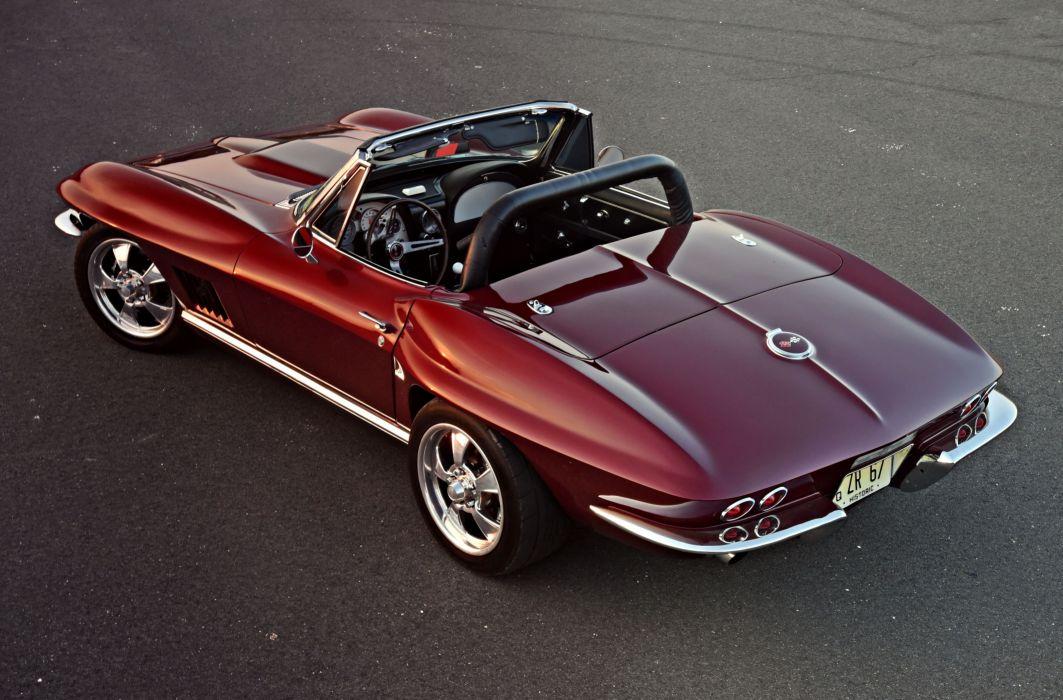 1967 chevy Corvette cars (c2) modified wallpaper
