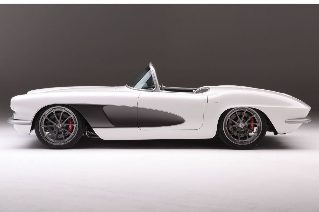 1961 chevy Corvette cars (c2) modified wallpaper