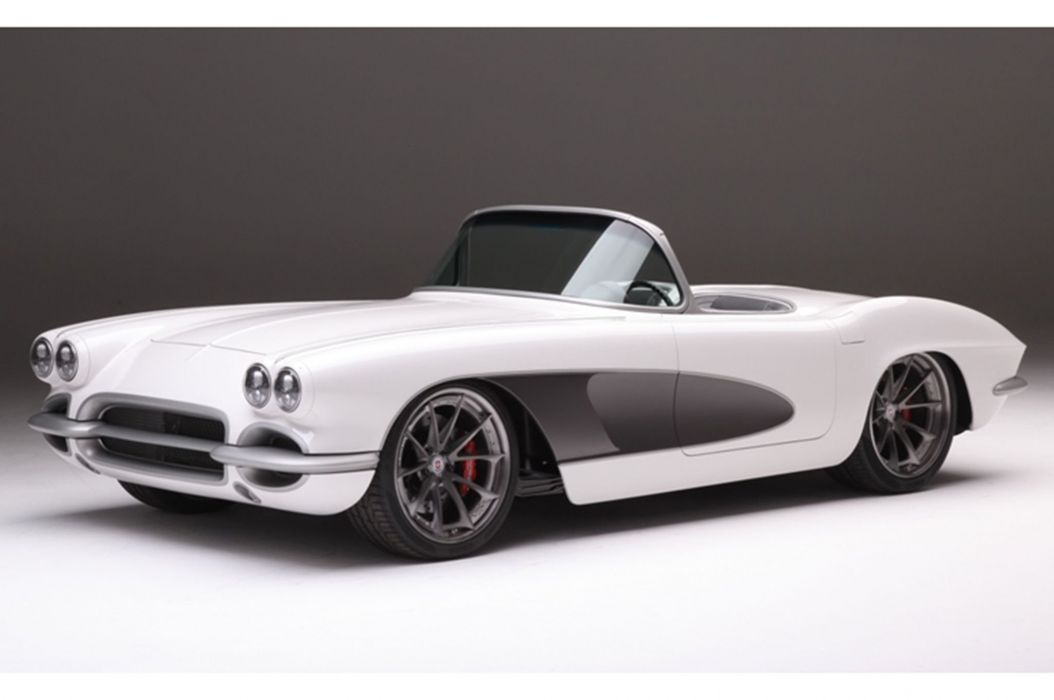 1961 chevy Corvette cars (c2) modified wallpaper