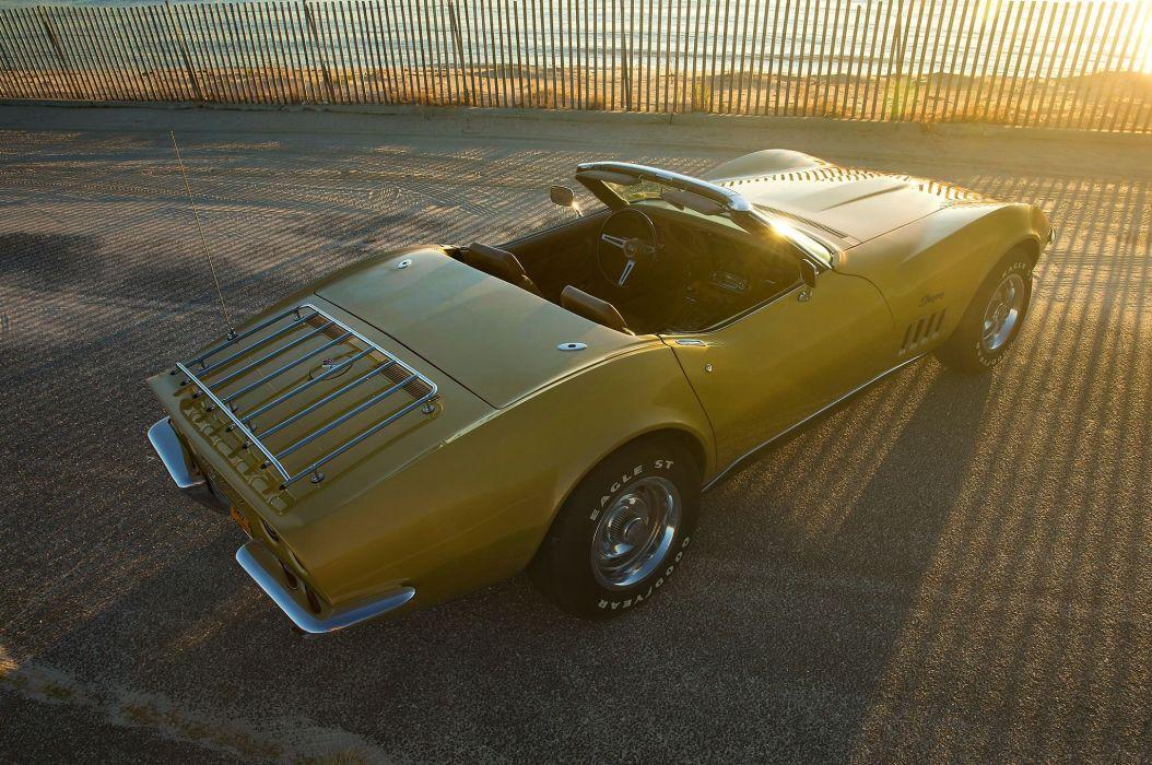 1969 chevy Corvette cars (c3) convertible modified wallpaper