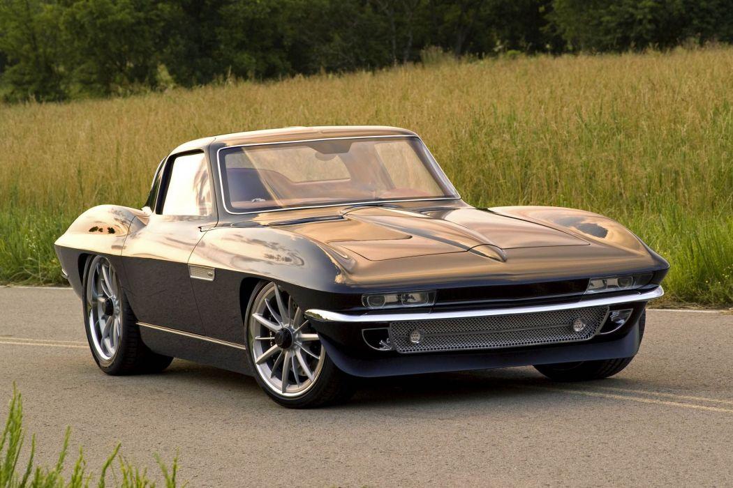 1965 chevy Corvette cars (c2) modified wallpaper