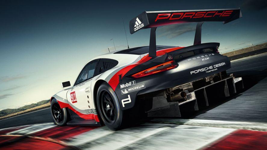 Porsche 911 RSR 2017 wallpaper