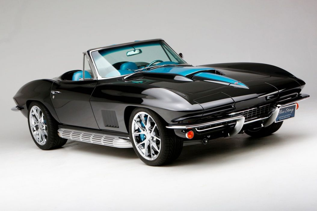 1967 chevy Corvette cars (c2) modified wallpaper