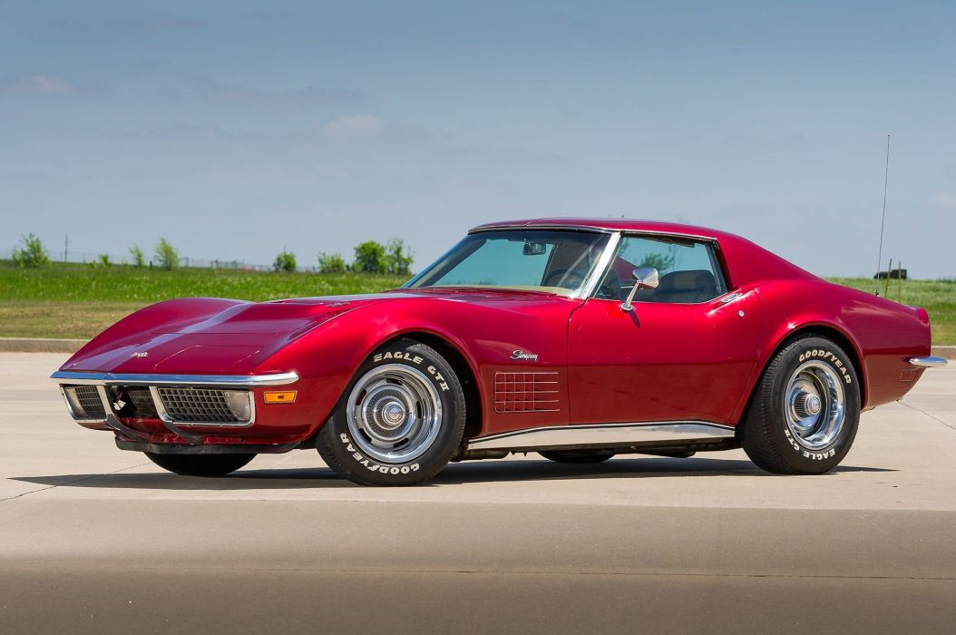 1971 chevy Corvette cars (c3) modified wallpaper