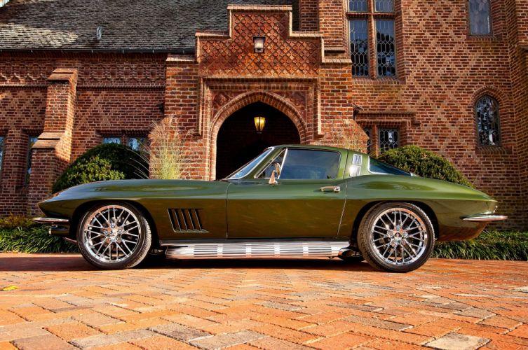 1964 chevy Corvette cars (c2) modified wallpaper