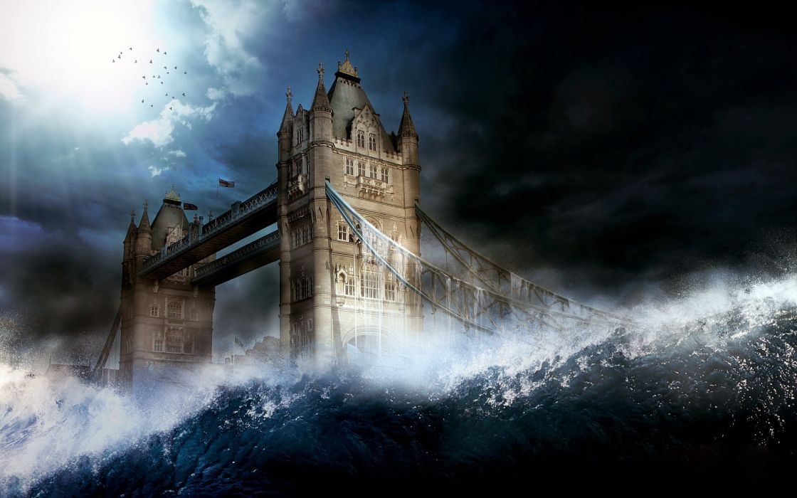 London Bridge Is Falling Down wallpaper