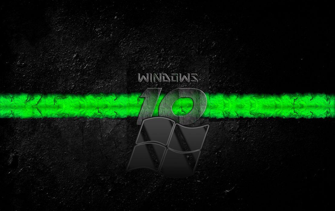 Windows 10 Green wallpaper