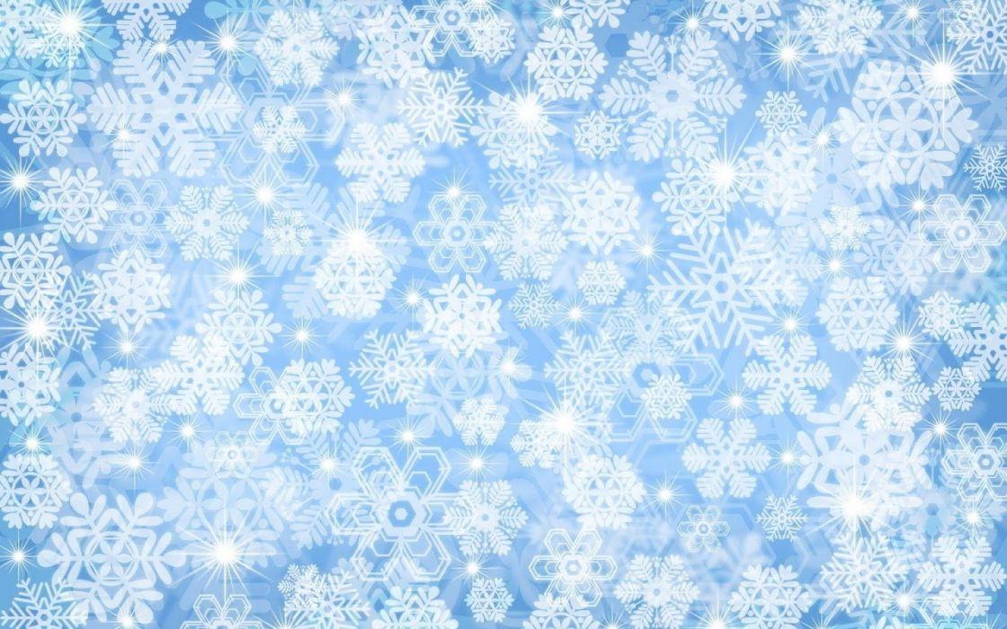 Snowflake texture wallpaper