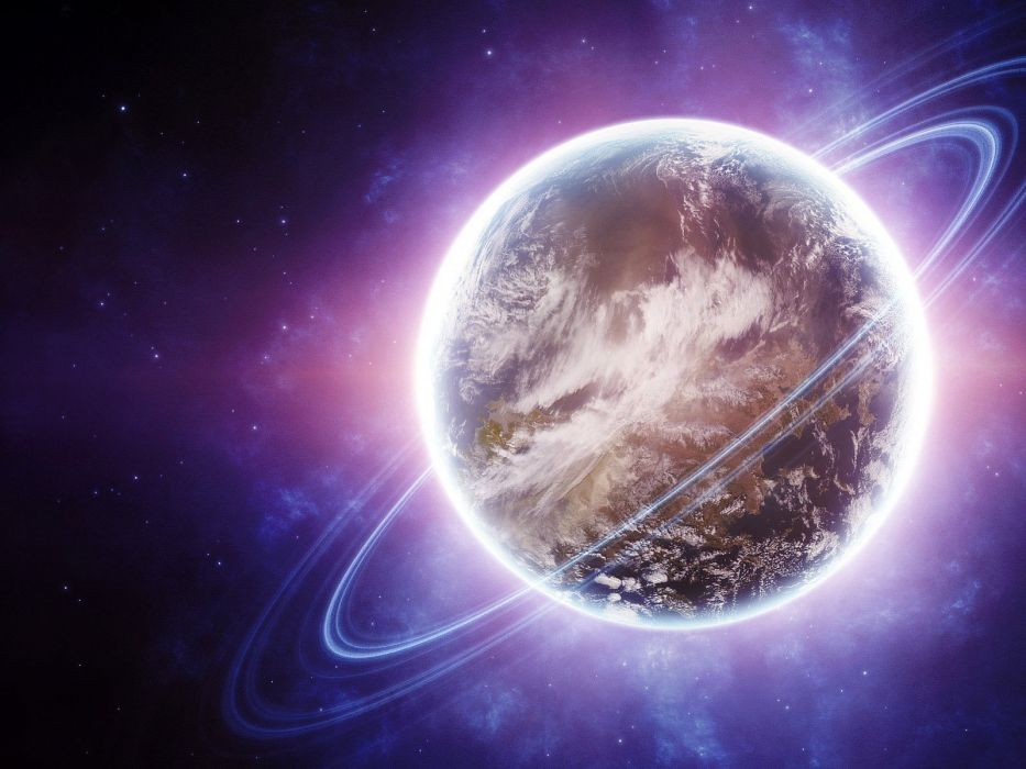 planet Digital Universe wallpaper