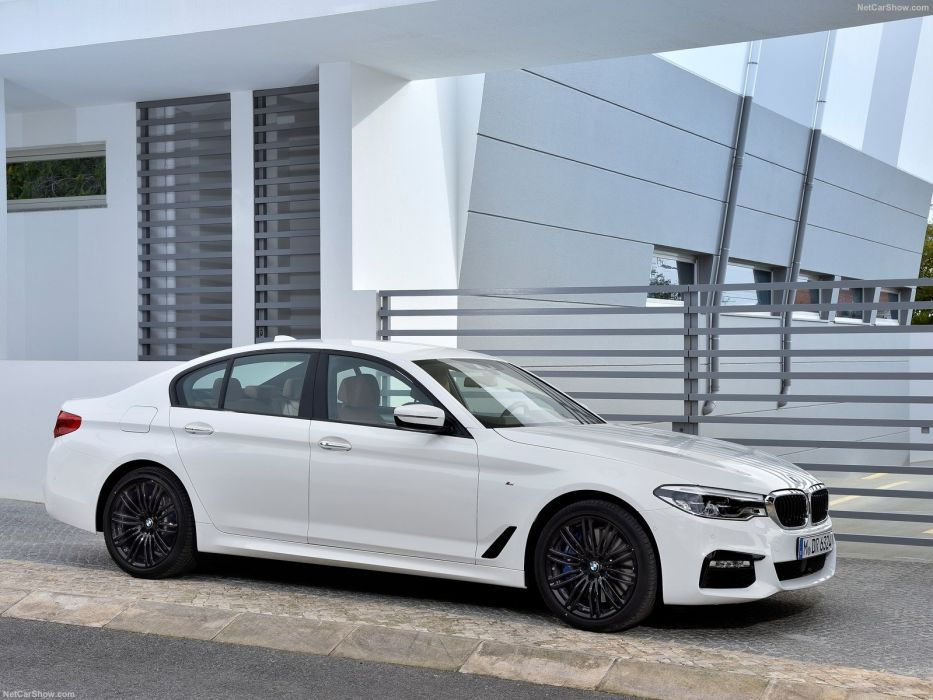 2016 5-series bmw cars sedan white wallpaper