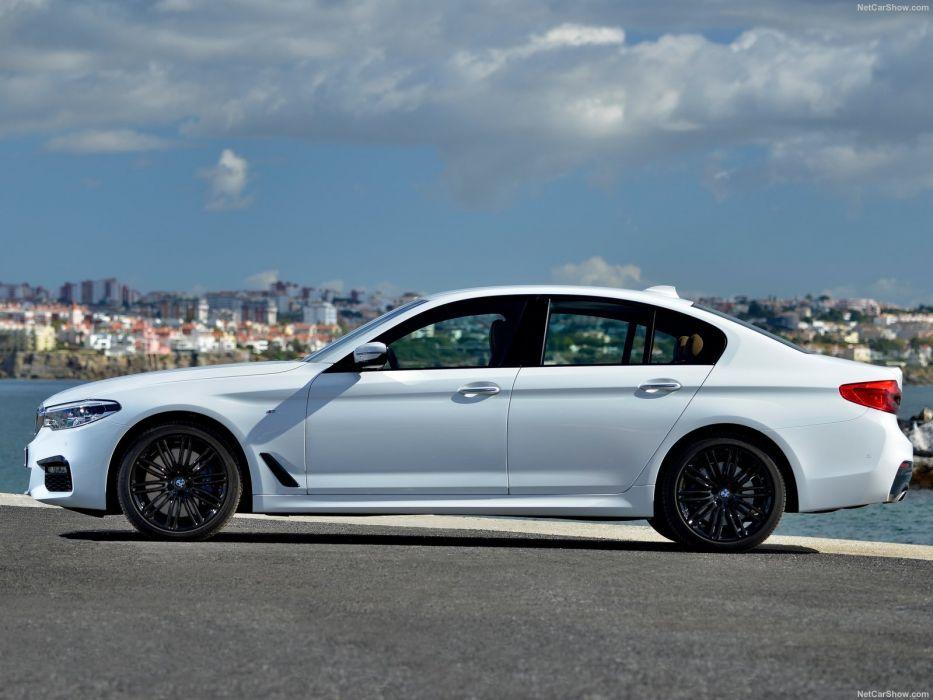 2016 5-series bmw cars sedan white wallpaper