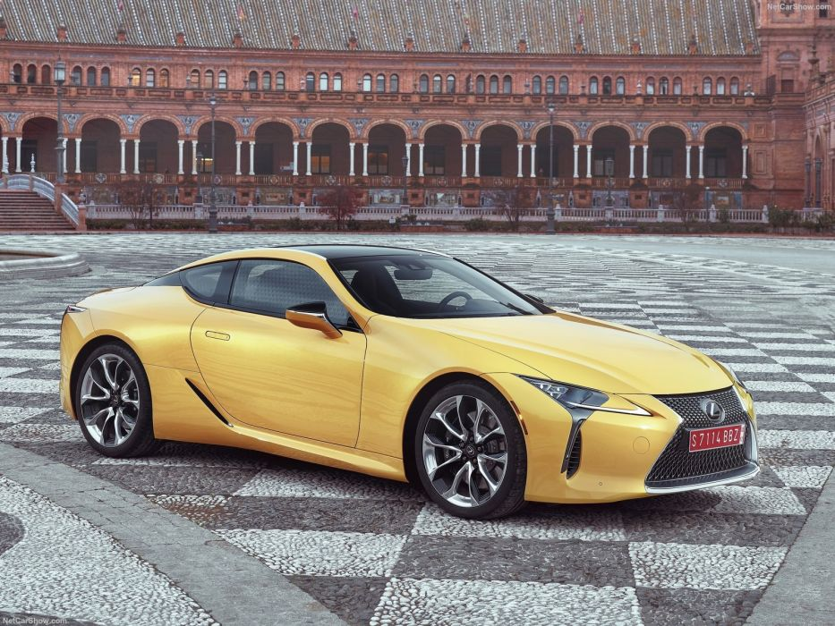 2017 Lexus LC-500 cars coupe wallpaper