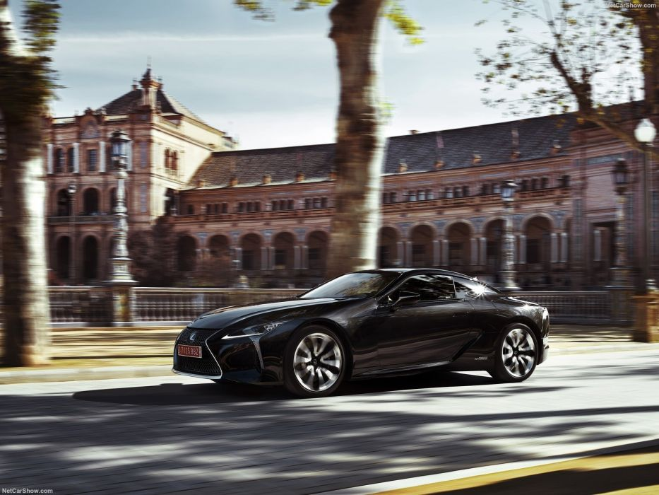 2017 Lexus LC-500h cars coupe Hybrid  wallpaper