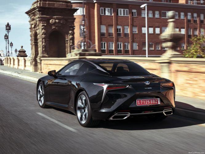2017 Lexus LC-500h cars coupe Hybrid wallpaper