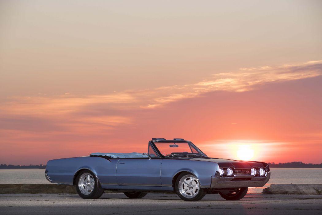 1967 oldsmobile cutlass 422 cars blue wallpaper