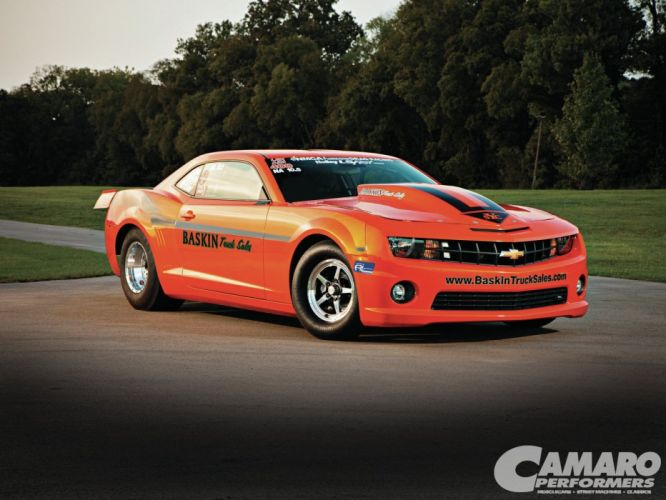 2010 Camaro Chevrolet drag cars modified wallpaper
