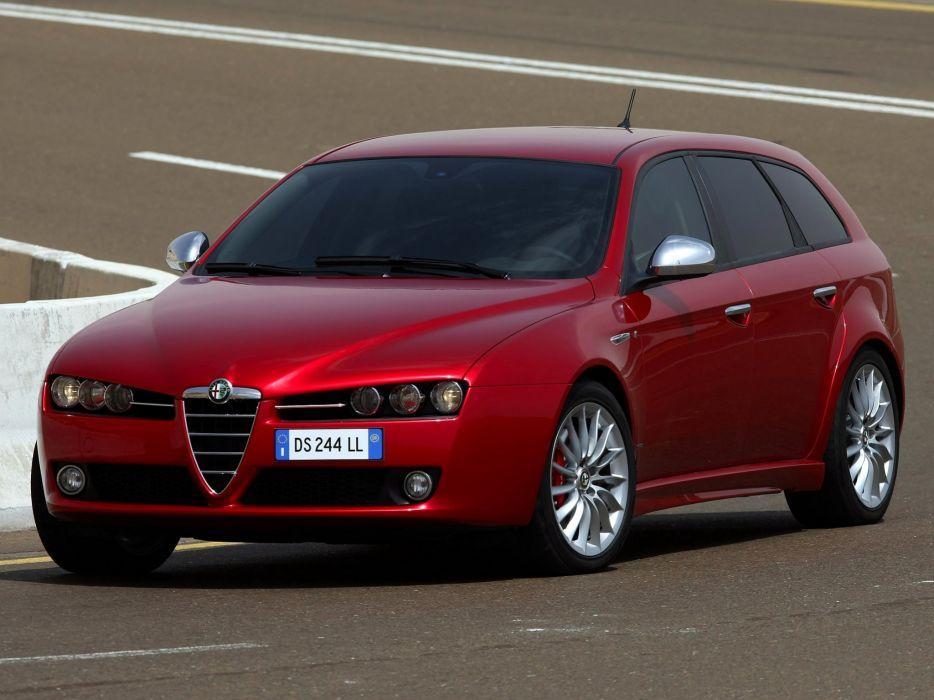 Alfa Romeo 159 Sportwagon Ti 2008 wallpaper