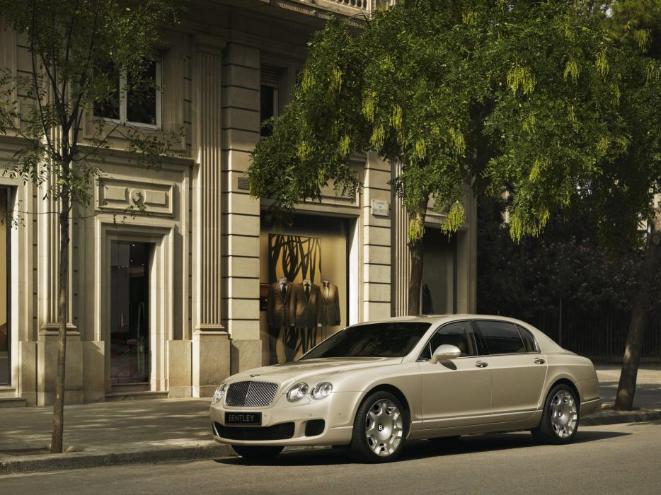 Bentley Continental Flying Spur 2008 wallpaper