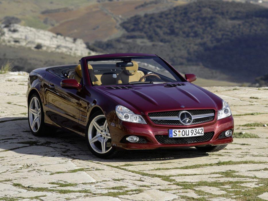 Mercedes-Benz SL500 2008 wallpaper