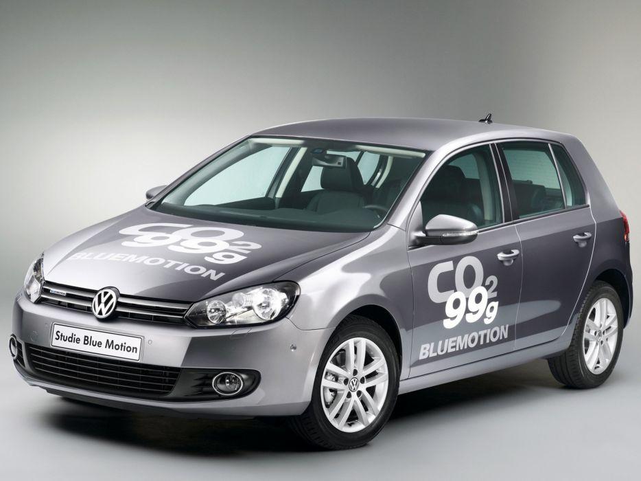 Volkswagen Golf Blue Motion Concept 2008 wallpaper