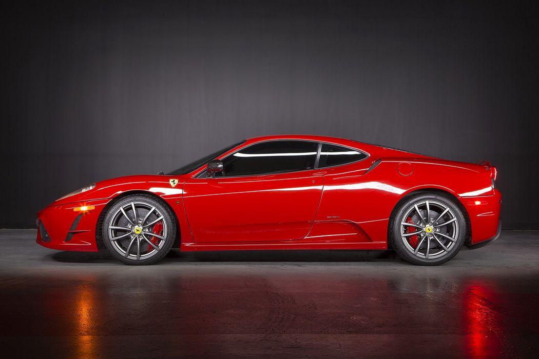 Ferrari 430 Scuderia cars red 2007 wallpaper
