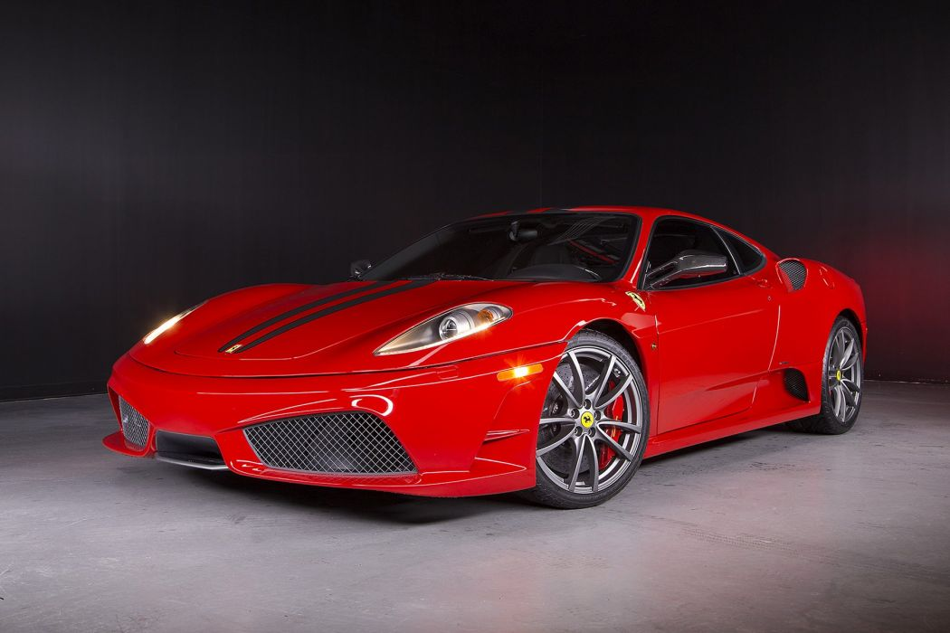 Ferrari 430 Scuderia cars red 2007 wallpaper