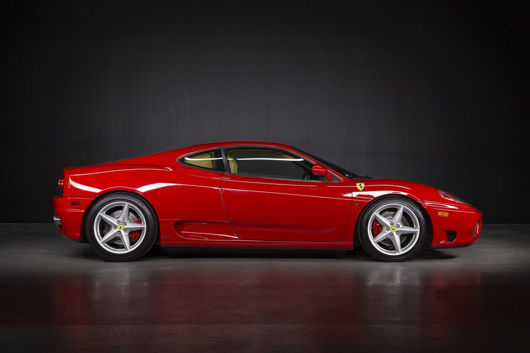 Ferrari 360 Modena cars red 1999 wallpaper