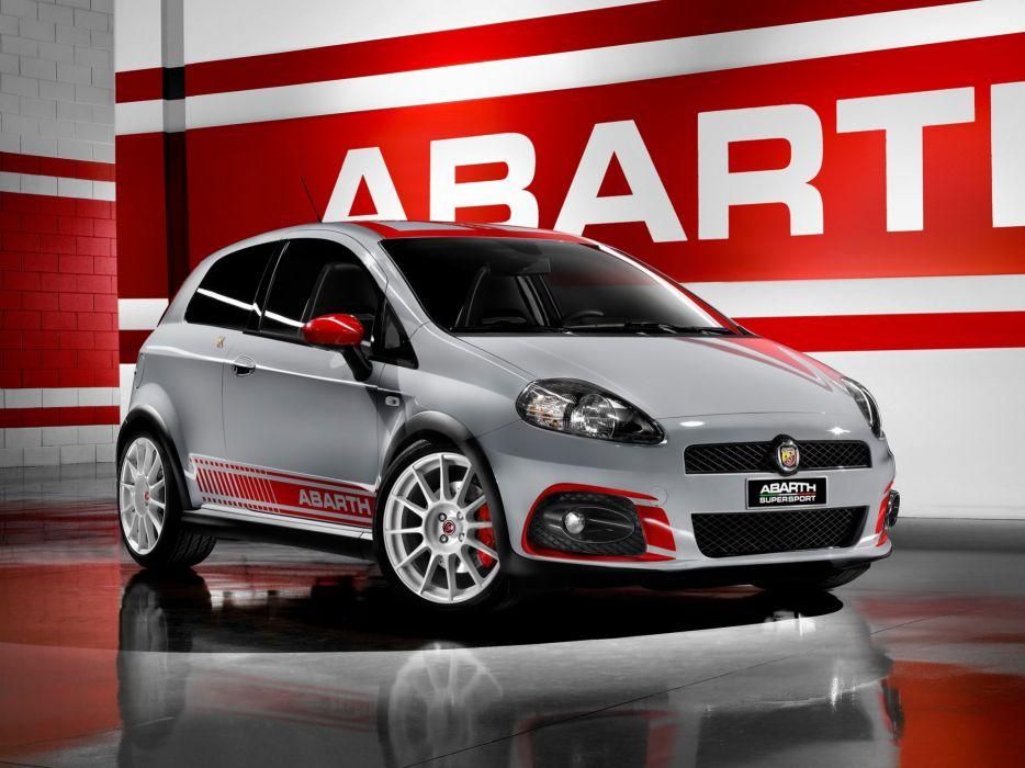 Abarth Grande Punto SuperSport 2009 wallpaper