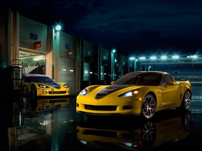 Corvette Z06 GT1 Championship Edition 2008 wallpaper