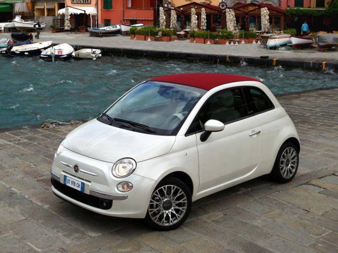 Fiat 500C 2009 wallpaper