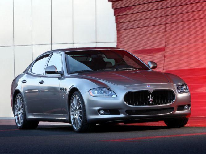 Maserati Quattroporte Sport GT S 2009 wallpaper