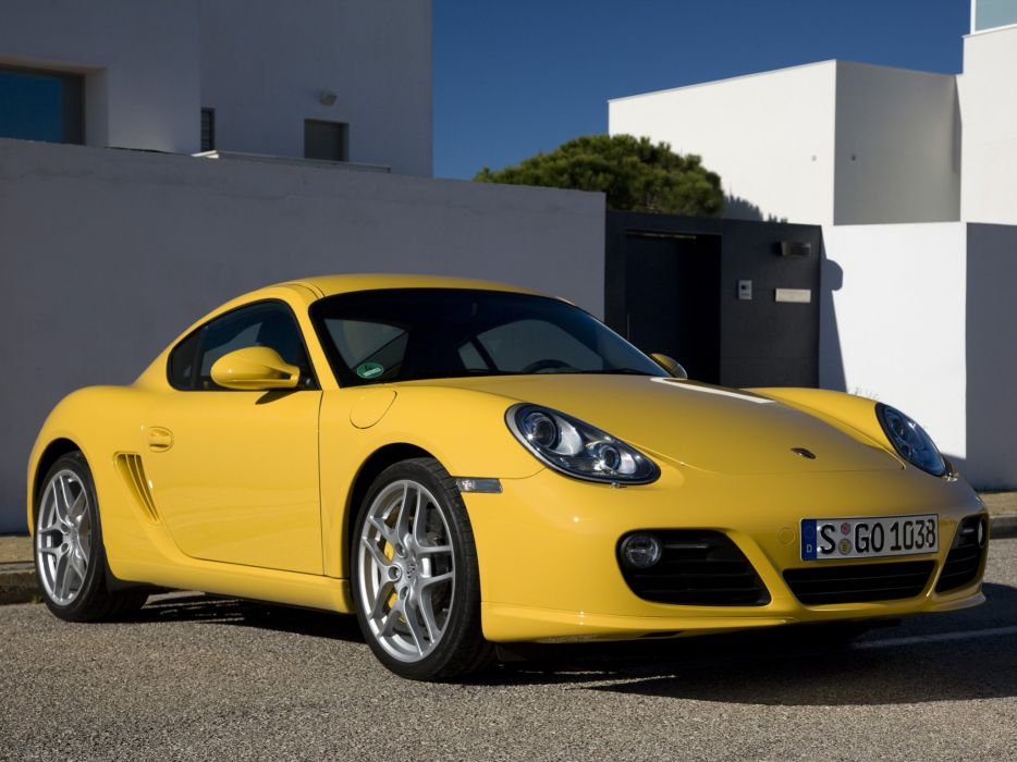 Porsche Cayman S 2009 wallpaper