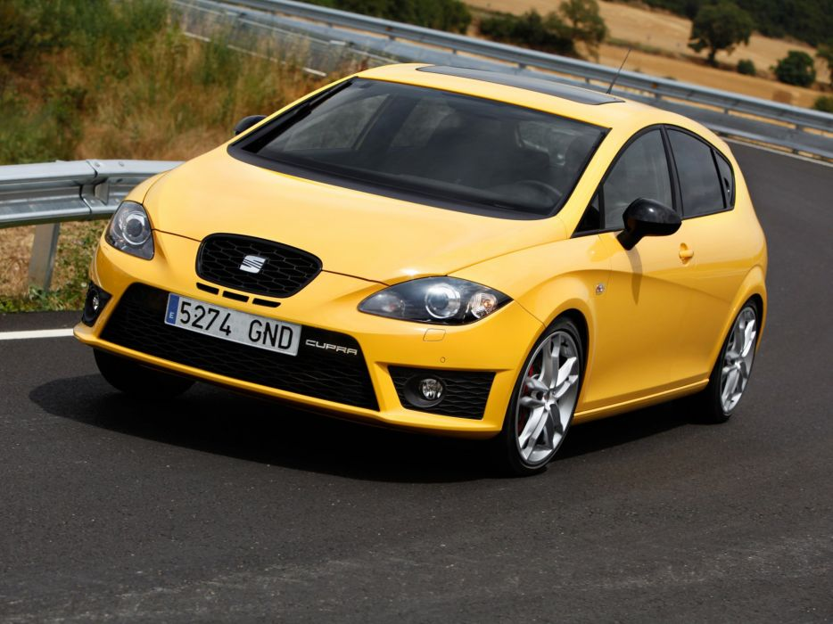 Seat Leon Cupra 2009 wallpaper