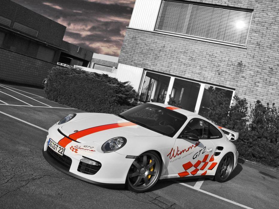 Wimmer RS Porsche 911 GT2 Speed Biturbo 2009 wallpaper