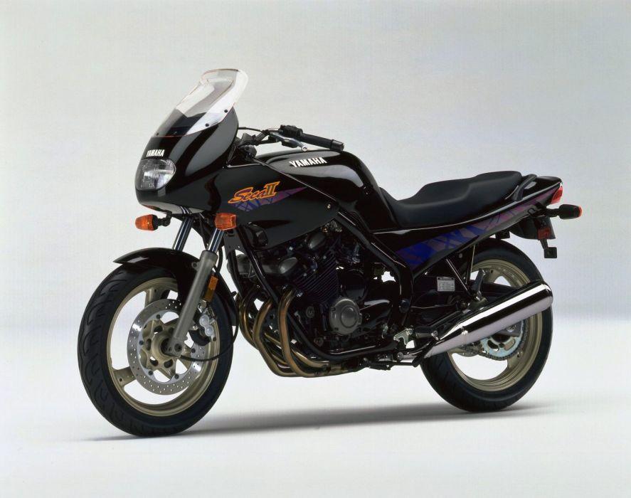 Yamaha XJ600S Seca-II motorcycles 1996 wallpaper