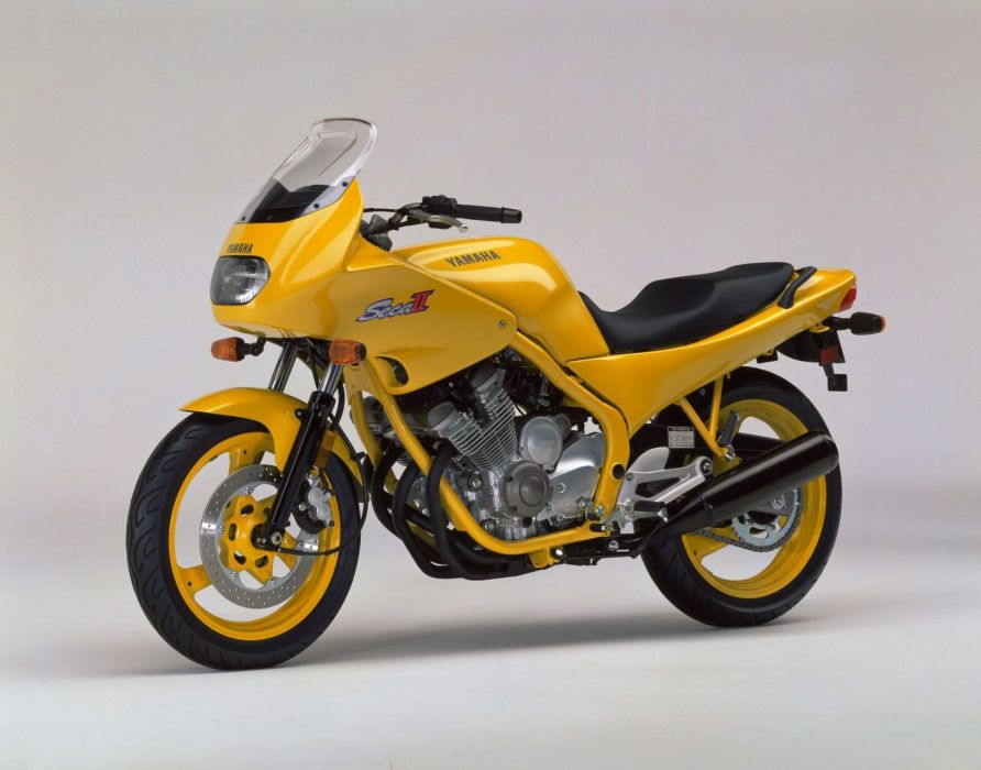 Yamaha XJ600S Seca-II motorcycles 1995 wallpaper