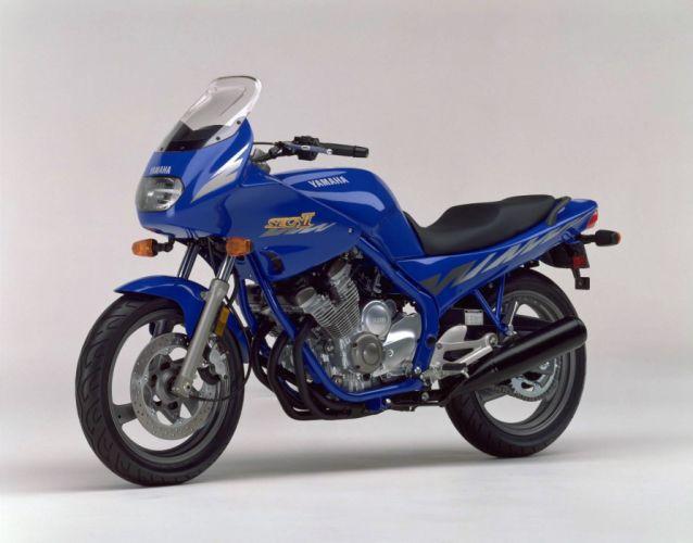 Yamaha XJ600S Seca-II motorcycles 1994 wallpaper