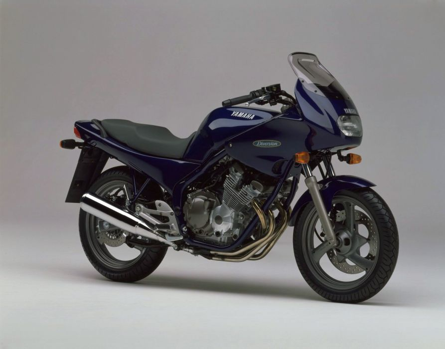 Yamaha XJ600S Diversion motorcycles 1993 wallpaper